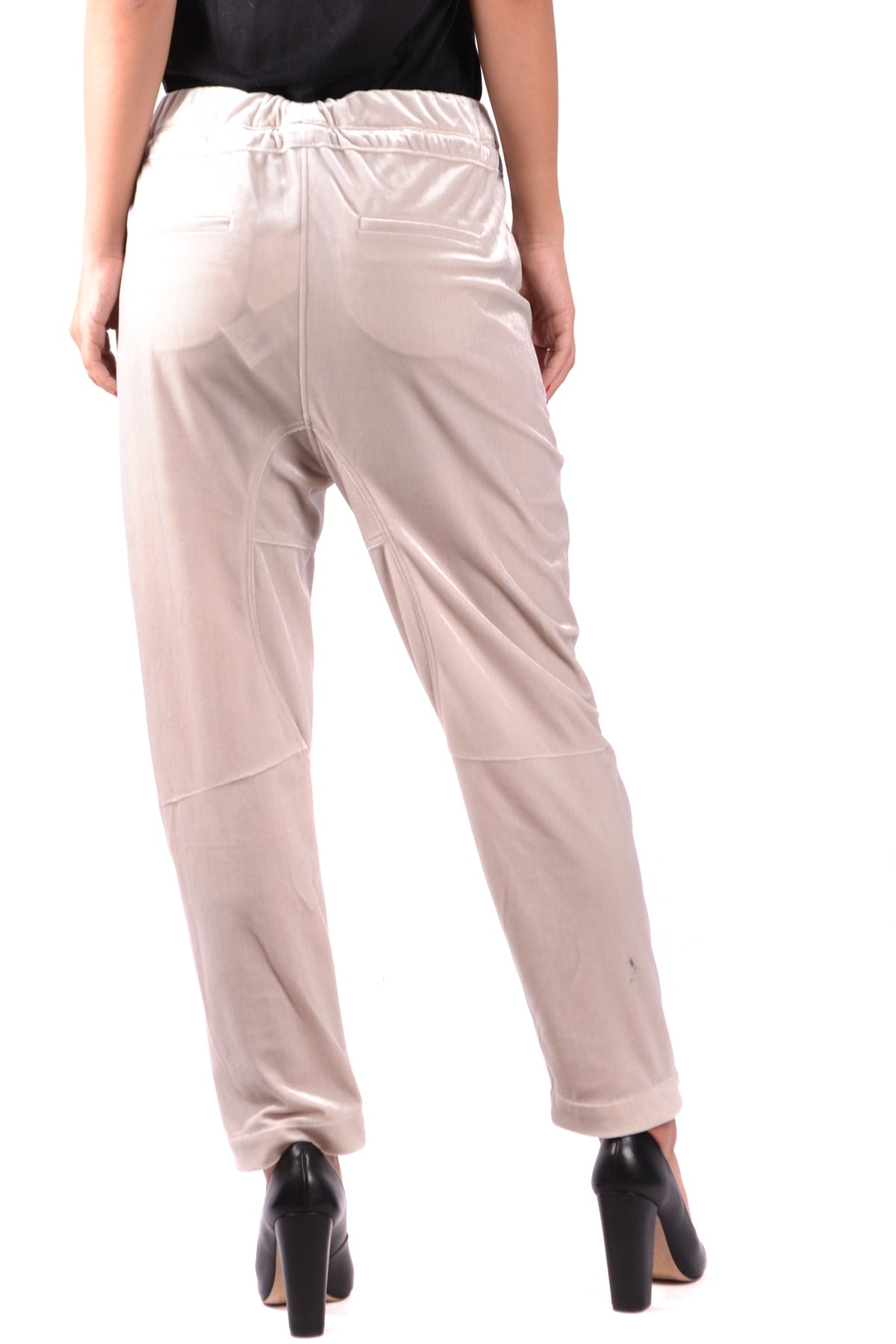 Trousers Brunello Cucinelli-Trousers - WOMAN-Product Details Terms: New With LabelYear: 2017Main Color: BeigeGender: WomanMade In: ItalySize: ItSeason: Fall / WinterClothing Type: TrousersComposition: Polyester 100%-Keyomi-Sook