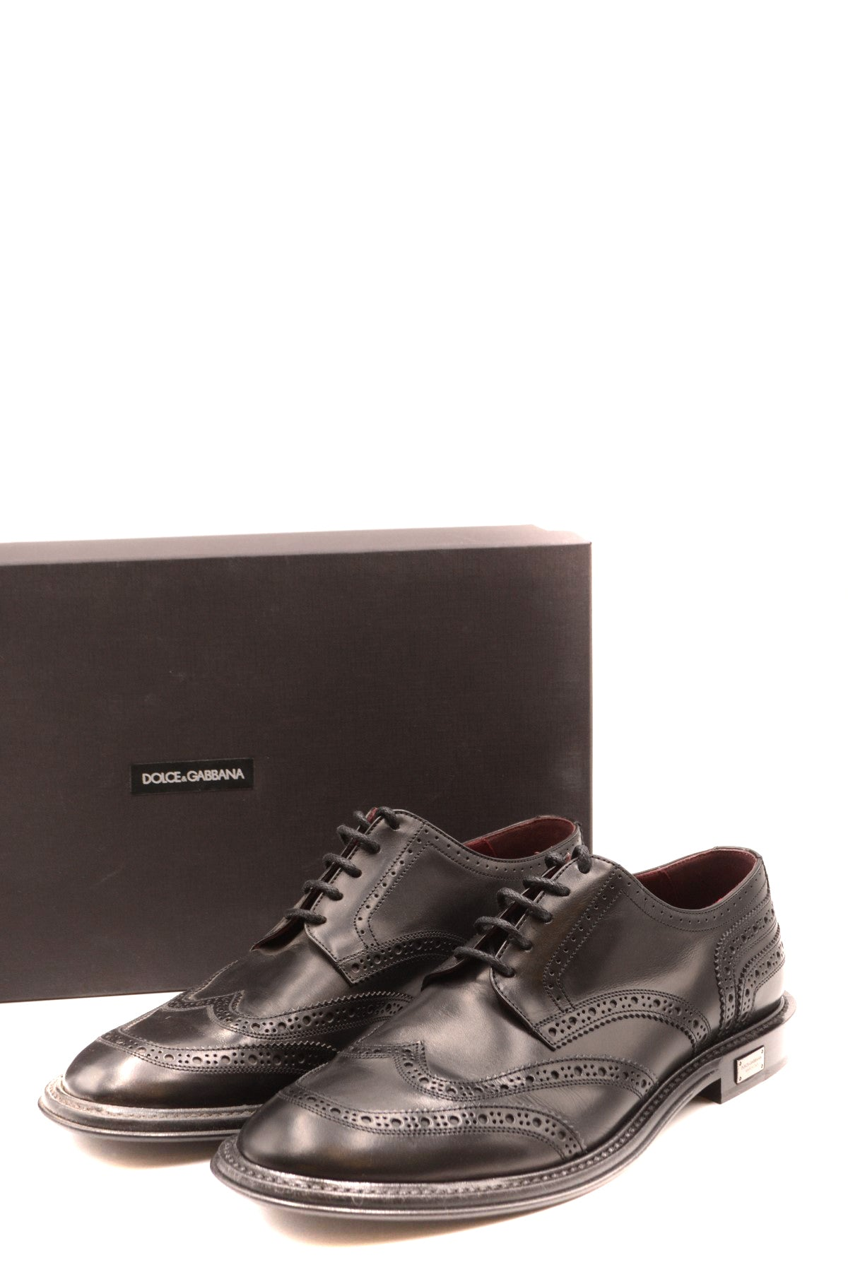 Shoes Dolce & Gabbana-Men's Fashion - Men's Shoes - Oxfords-Product Details Size: EuGender: ManMade In: ItalySeason: Fall / WinterType Of Accessory: ShoesMain Color: BlackTerms: New With LabelComposition: Leather 100%Year: 2019Manufacturer Part Number: A10421 Az895 80999 Nero-Keyomi-Sook