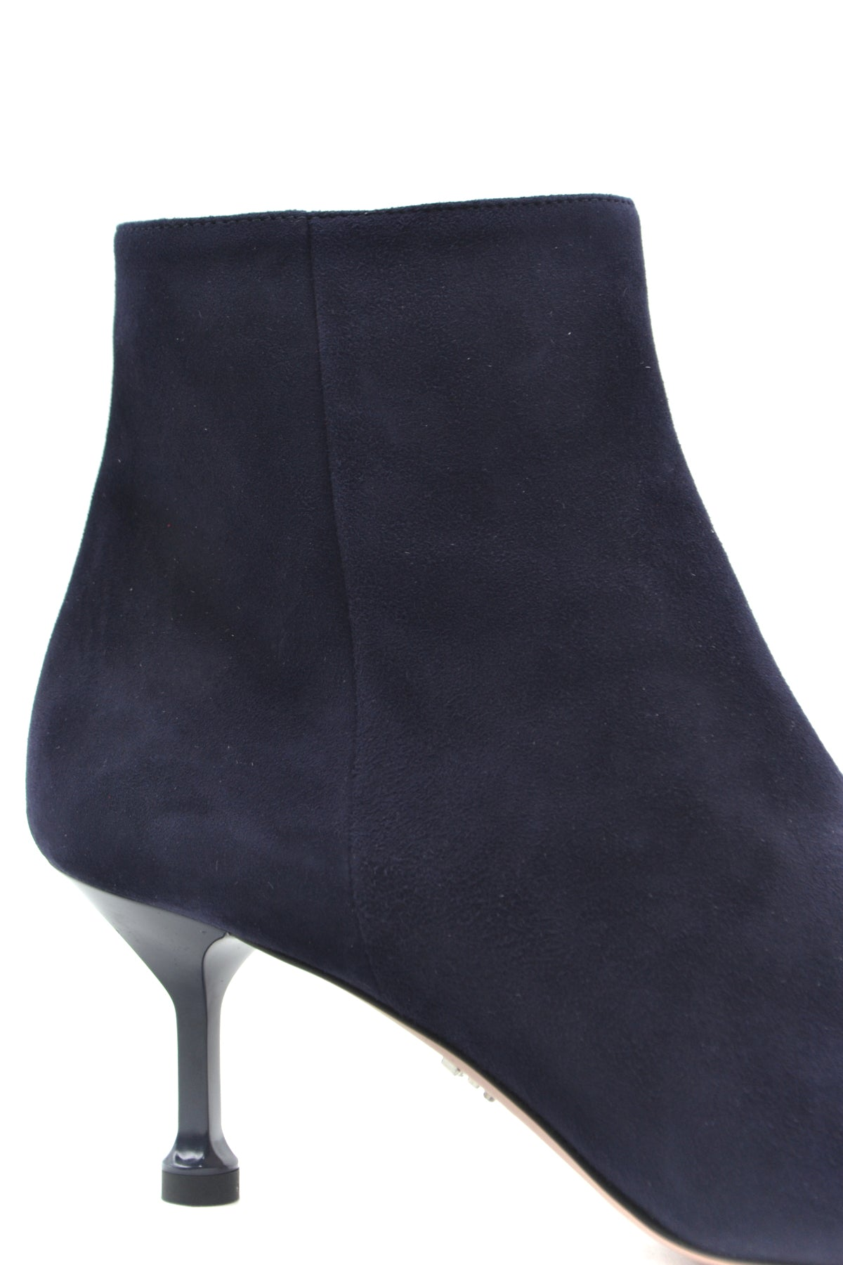 Shoes Prada-Women's Fashion - Women's Shoes - Women's Boots-Product Details Terms: New With LabelMain Color: BlueType Of Accessory: BootsSeason: Fall / WinterMade In: ItalyGender: WomanHeel'S Height: 6,5Size: EuComposition: Chamois 100%Year: 2020Manufacturer Part Number: 1T636L 008 F008-Keyomi-Sook
