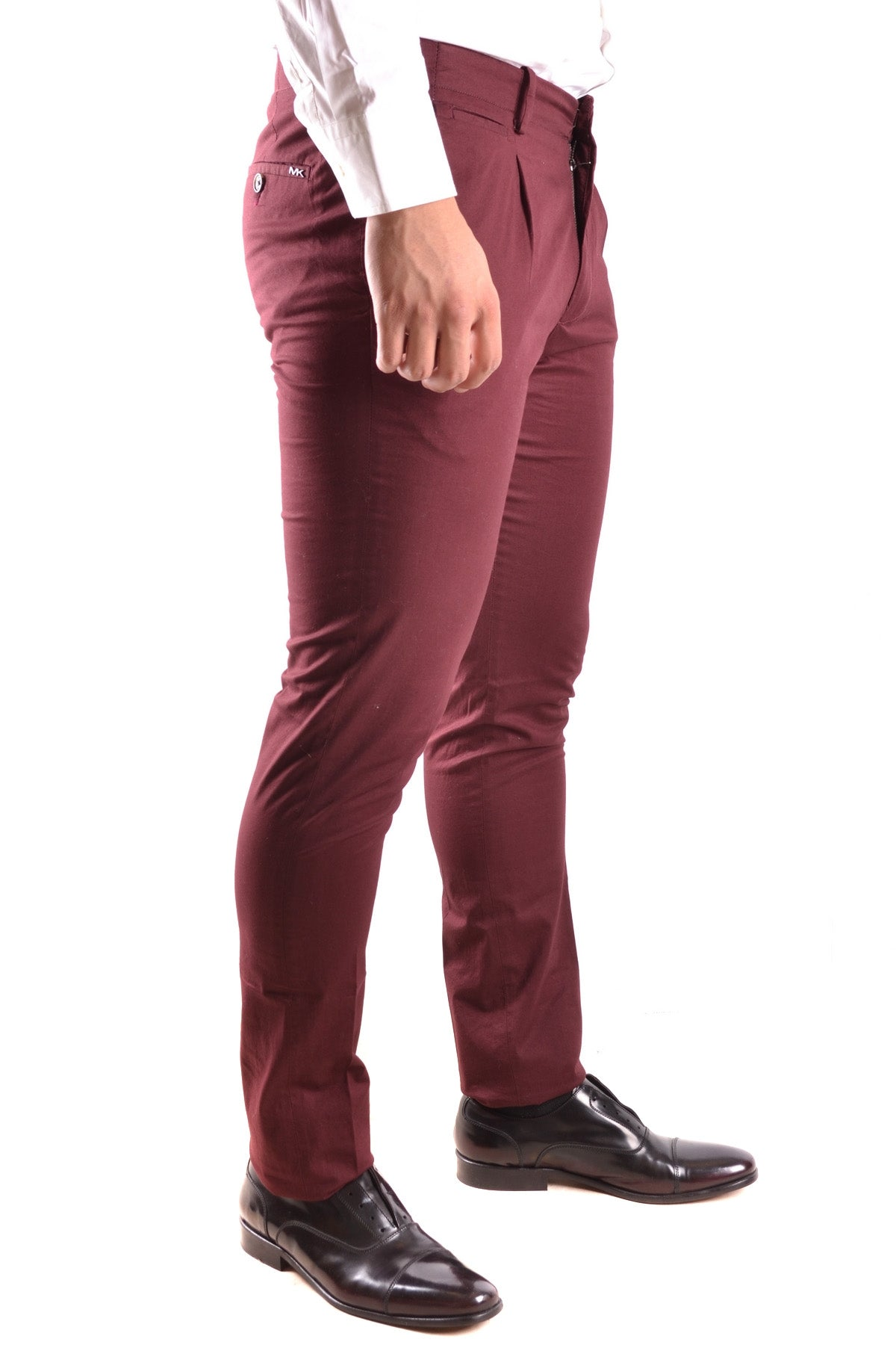 Trousers Michael Kors-Trousers - MAN-Product Details Terms: New With LabelYear: 2017Main Color: BurgundySeason: Spring / SummerMade In: ChinaSize: UsGender: ManClothing Type: TrousersComposition: Cotton 99%, Elastane 1%-Keyomi-Sook