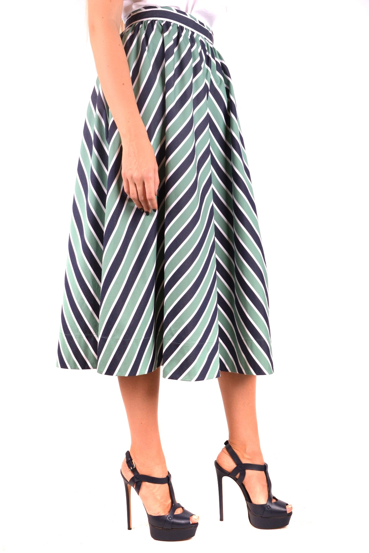 Skirt Fendi-Skirts - WOMAN-Product Details Season: Spring / SummerTerms: New With LabelMain Color: GreenGender: WomanMade In: ItalyManufacturer Part Number: Fq6732 A1Uw F12B7Size: ItYear: 2018Clothing Type: SkirtComposition: Cotton 100%-Keyomi-Sook