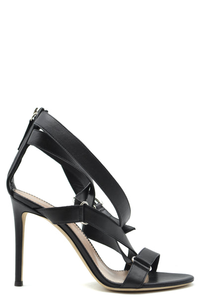 Shoes Giuseppe Zanotti-Sandals - WOMAN-37-Product Details Type Of Accessory: ShoesSeason: Fall / WinterTerms: New With LabelHeel'S Height: 10.5 CmMain Color: BlackGender: WomanMade In: ItalyManufacturer Part Number: E900154Size: EuYear: 2018Composition: Leather 100%-Keyomi-Sook