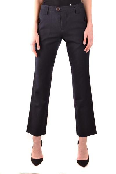 Trousers Y'S Yohji Yamamoto-root - Women - Apparel - Pants - Trousers-Product Details Clothing Type: TrousersTerms: New With LabelMain Color: BlackSeason: Fall / WinterMade In: JapanGender: WomanSize: IntComposition: Wool 100%Year: 2019Manufacturer Part Number: Yb-P52-158-1-Keyomi-Sook