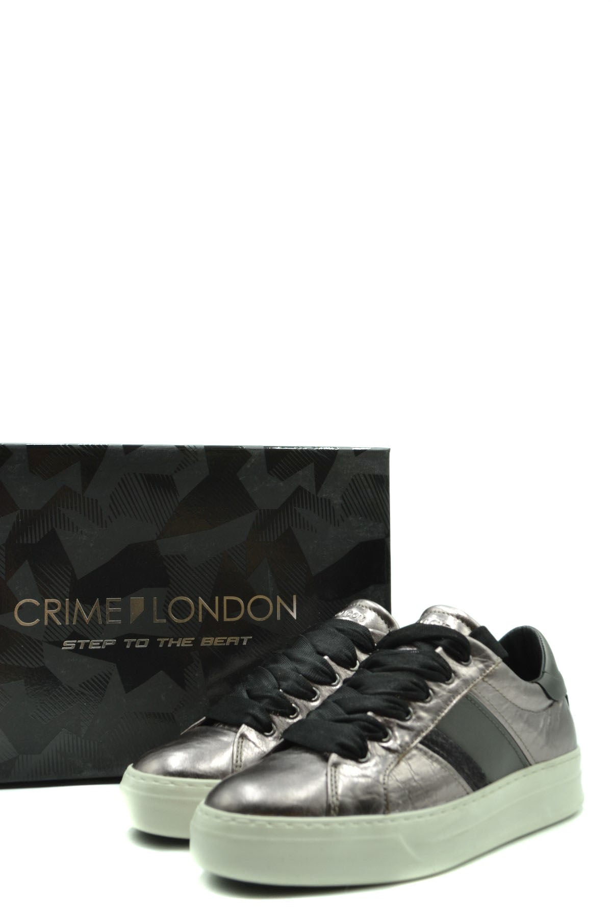 Shoes Crime London-Sports & Entertainment - Sneakers-Product Details Terms: New With LabelMain Color: BronzeType Of Accessory: ShoesSeason: Fall / WinterMade In: ItalyGender: WomanSize: EuComposition: Leather 100%Year: 2020Manufacturer Part Number: 25221Aa1.23-Keyomi-Sook