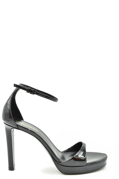 Shoes Saint Laurent-Women's Fashion - Women's Shoes - Women's Sandals-37.5-Product Details Terms: New With LabelMain Color: BlackType Of Accessory: ShoesSeason: Spring / SummerMade In: ItalyGender: WomanHeel'S Height: 12 CmSize: EuComposition: Leather 100%Year: 2020Manufacturer Part Number: I53S90421510-Keyomi-Sook