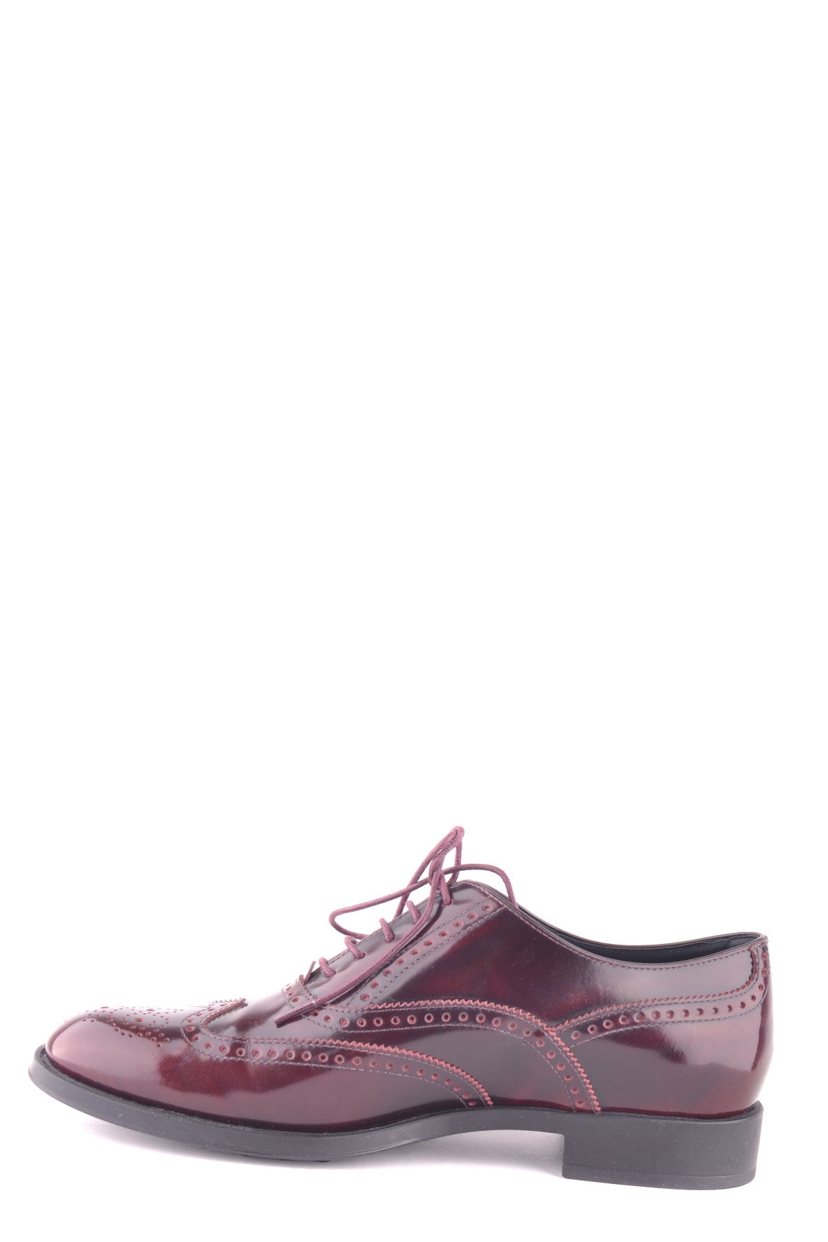 Shoes Tod'S-Classic flats - WOMAN-Product Details Type Of Accessory: ShoesTerms: New With LabelYear: 2017Main Color: BurgundyGender: WomanMade In: ItalySize: EuSeason: Spring / SummerComposition: Leather 100%-Keyomi-Sook