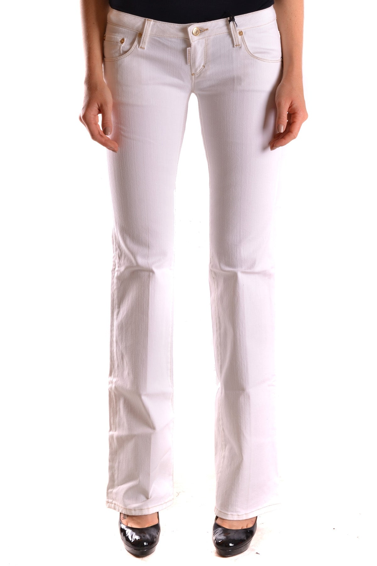 Jeans Dsquared-Jeans - WOMAN-38-Product Details Terms: New With LabelYear: 2017Main Color: WhiteGender: WomanMade In: ItalySize: ItSeason: Spring / SummerClothing Type: JeansComposition: Cotton 98%, Elastane 2%-Keyomi-Sook