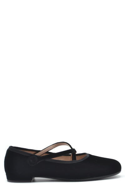Shoes Miu Miu-Women's Fashion - Women's Shoes - Women's Flats-35.5-Product Details Terms: New With LabelMain Color: BlackType Of Accessory: ShoesSeason: Fall / WinterMade In: ItalyGender: WomanSize: EuComposition: Velvet 100%Year: 2020Manufacturer Part Number: 5F873C Lssz F0002-Keyomi-Sook
