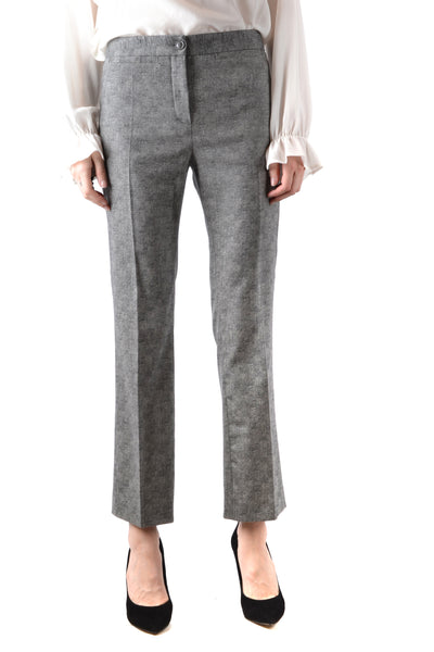 Trousers Boutique Moschino-Trousers - WOMAN-38-Product Details Season: Fall / WinterTerms: New With LabelMain Color: GrayGender: WomanMade In: TunisiaManufacturer Part Number: 182Ra03026121Size: ItYear: 2018Clothing Type: TrousersComposition: Elastane 2%, Wool 98%-Keyomi-Sook