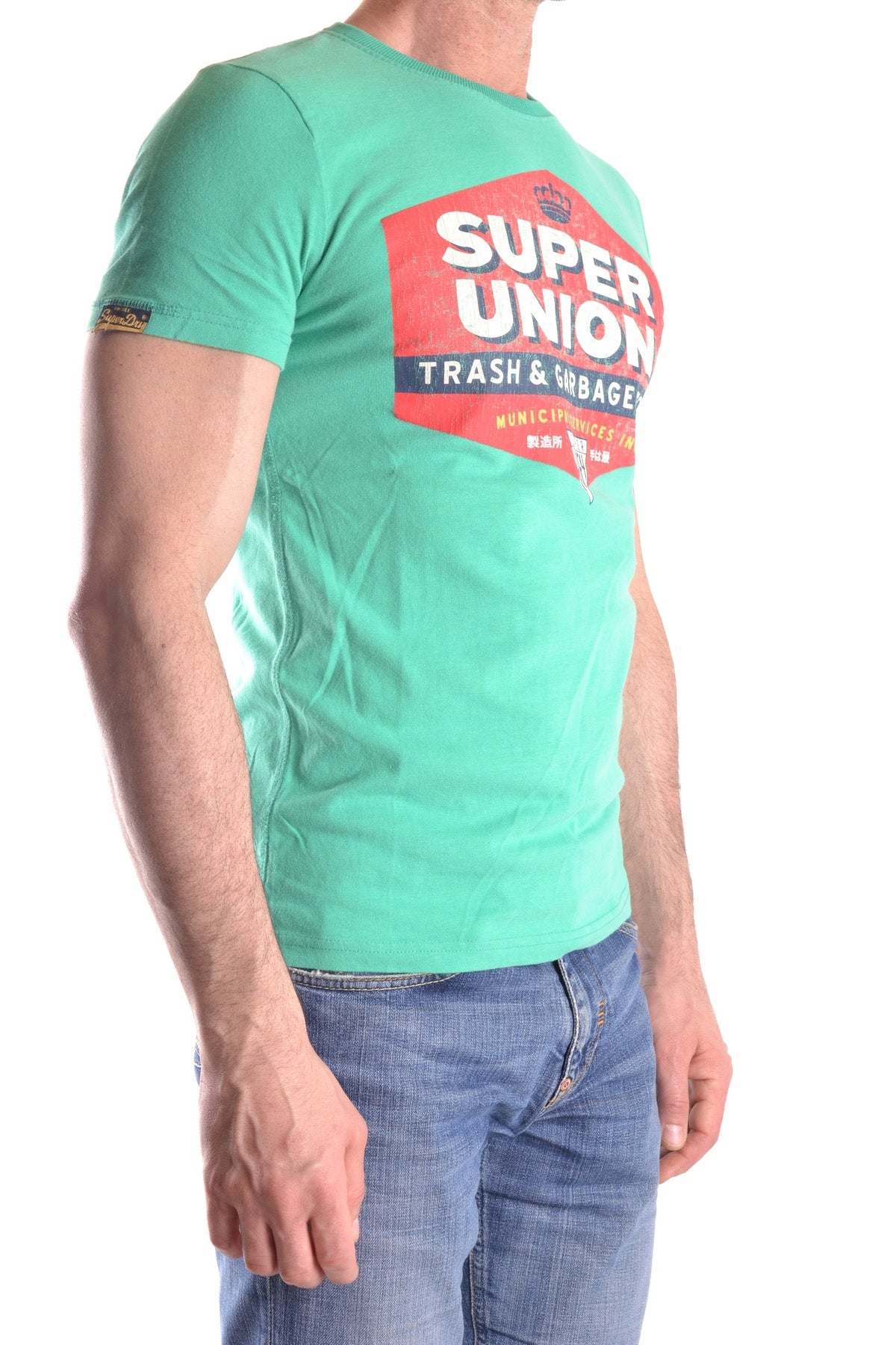 T-Shirt Superdry-Men's Fashion - Men's Clothing - Tops & Tees - T-Shirts-Product Details Terms: New With LabelClothing Type: T-ShirtMain Color: GreenSeason: Spring / SummerMade In: TurcheyGender: ManSize: IntComposition: Cotton 100%Year: 2017-Keyomi-Sook