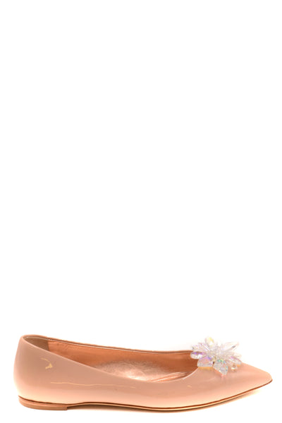 Shoes Giuseppe Zanotti-Women's Fashion - Women's Shoes - Women's Flats-Product Details Terms: New With LabelMain Color: Antique PinkType Of Accessory: ShoesSeason: Spring / SummerMade In: ItalyGender: WomanSize: EuComposition: Leather 100%Year: 2020-Keyomi-Sook