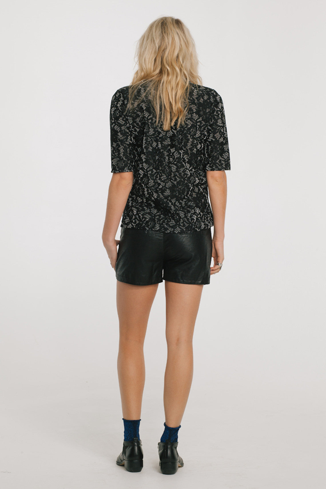 Gabby Shorts-Women - Apparel - Shorts - Casual-Product Details Cotton Lining & Polyurethane shell Faux leather shorts featuring a drawstring waist Model is wearing a size Small Hand wash cold, lay flat to dry Easy Measure Conversion XS/0 S/1 M/2 L/3 US 0/2 2/4 6/8 8/10 AUS 4/6 6/8 10/12 12/14 BRAZIL 34/36 36/38 40/42 42/44 CHINA 76a/80a 80a/84a 88a/92a 92a/95a EUP 32/34 34/36 38/40 40/42 JAP 5/7 7/9 11/13 13/15 RUS 42 42/44 46/48 50/52 UK 4/6 6/8 10/12 12/14 Detailed View Size Chart-Keyomi-Sook