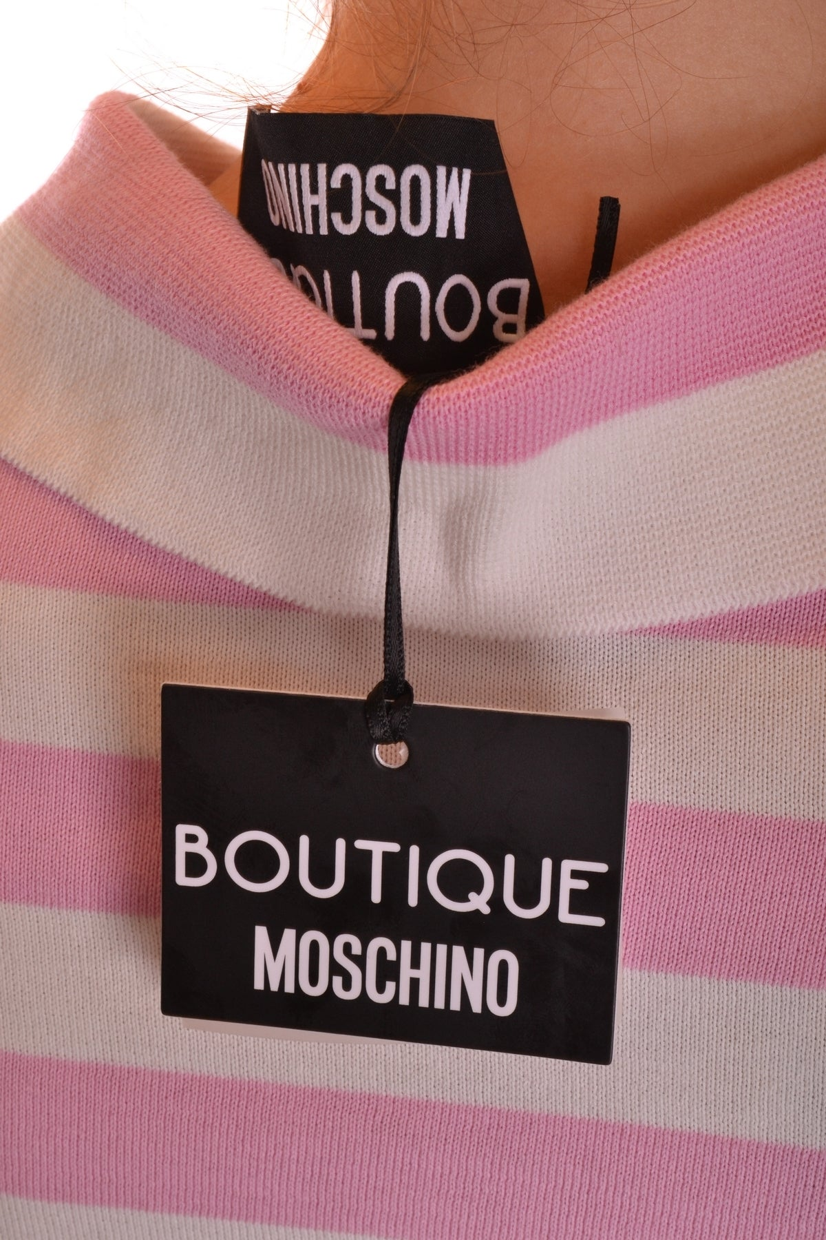 Polo Moschino-Polos - WOMAN-Product Details Season: Spring / SummerTerms: New With LabelMain Color: MulticolorGender: WomanMade In: ItalyManufacturer Part Number: H A0907Size: ItYear: 2018Clothing Type: PoleComposition: Cotton 100%-Keyomi-Sook