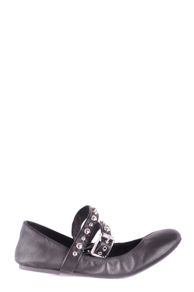 Shoes Steve Madden-Ballet flats - WOMAN-Product Details Type Of Accessory: ShoesTerms: New With LabelYear: 2017Main Color: BlackSeason: Fall / WinterMade In: ChinaSize: UsGender: WomanComposition: Leather 100%-Keyomi-Sook