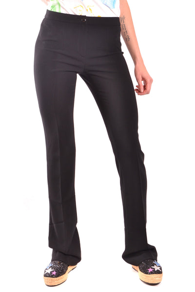 Trousers Moschino-Trousers - WOMAN-38-Product Details Season: Spring / SummerTerms: New With LabelMain Color: BlackGender: WomanMade In: ItalyManufacturer Part Number: R A0302Size: ItYear: 2018Clothing Type: TrousersComposition: Acetate 70%, Polyester 30%-Keyomi-Sook