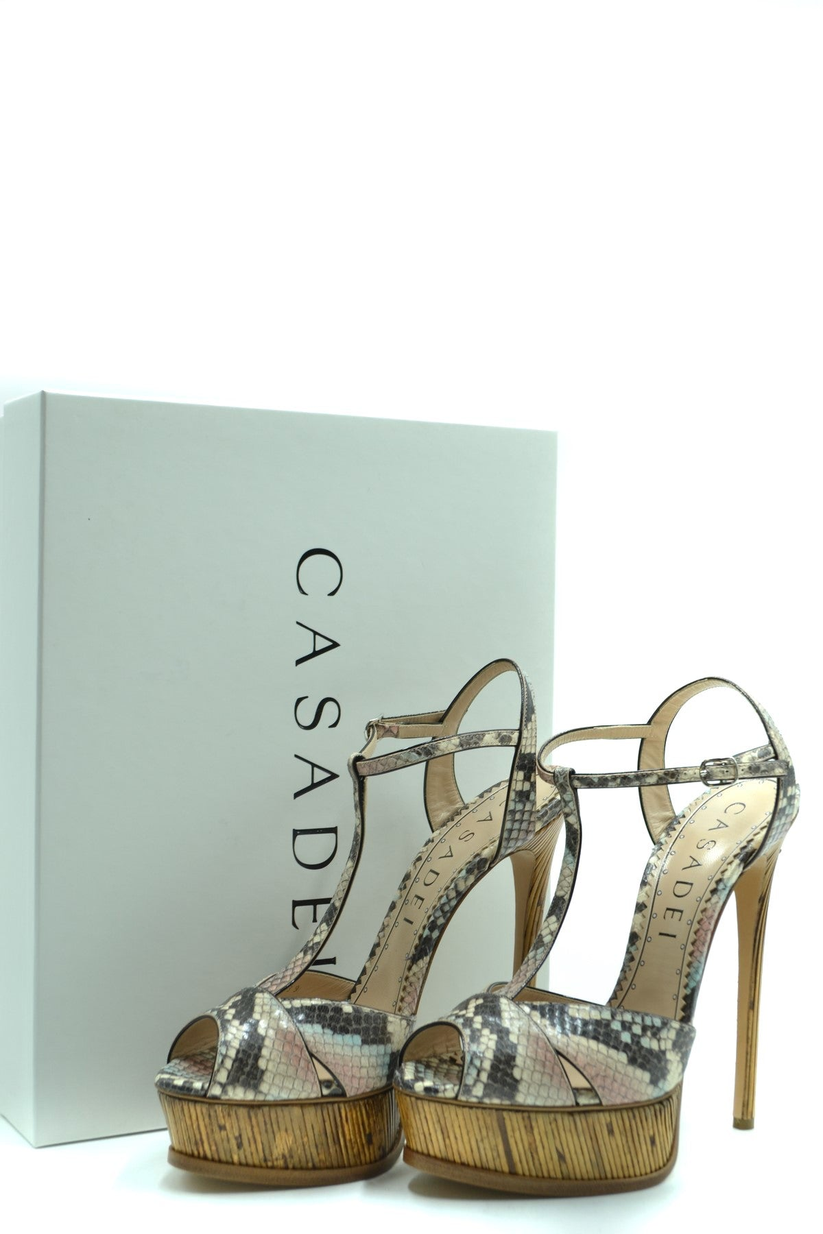 Shoes Casadei-Women's Fashion - Women's Shoes - Women's Sandals-Product Details Terms: New With LabelMain Color: MulticolorType Of Accessory: ShoesSeason: Spring / SummerMade In: ItalyGender: WomanPlatform'S Height: 4 CmHeel'S Height: 15 CmSize: EuComposition: Leather 100%Year: 2020Manufacturer Part Number: 1L579P1401T0134A552-Keyomi-Sook