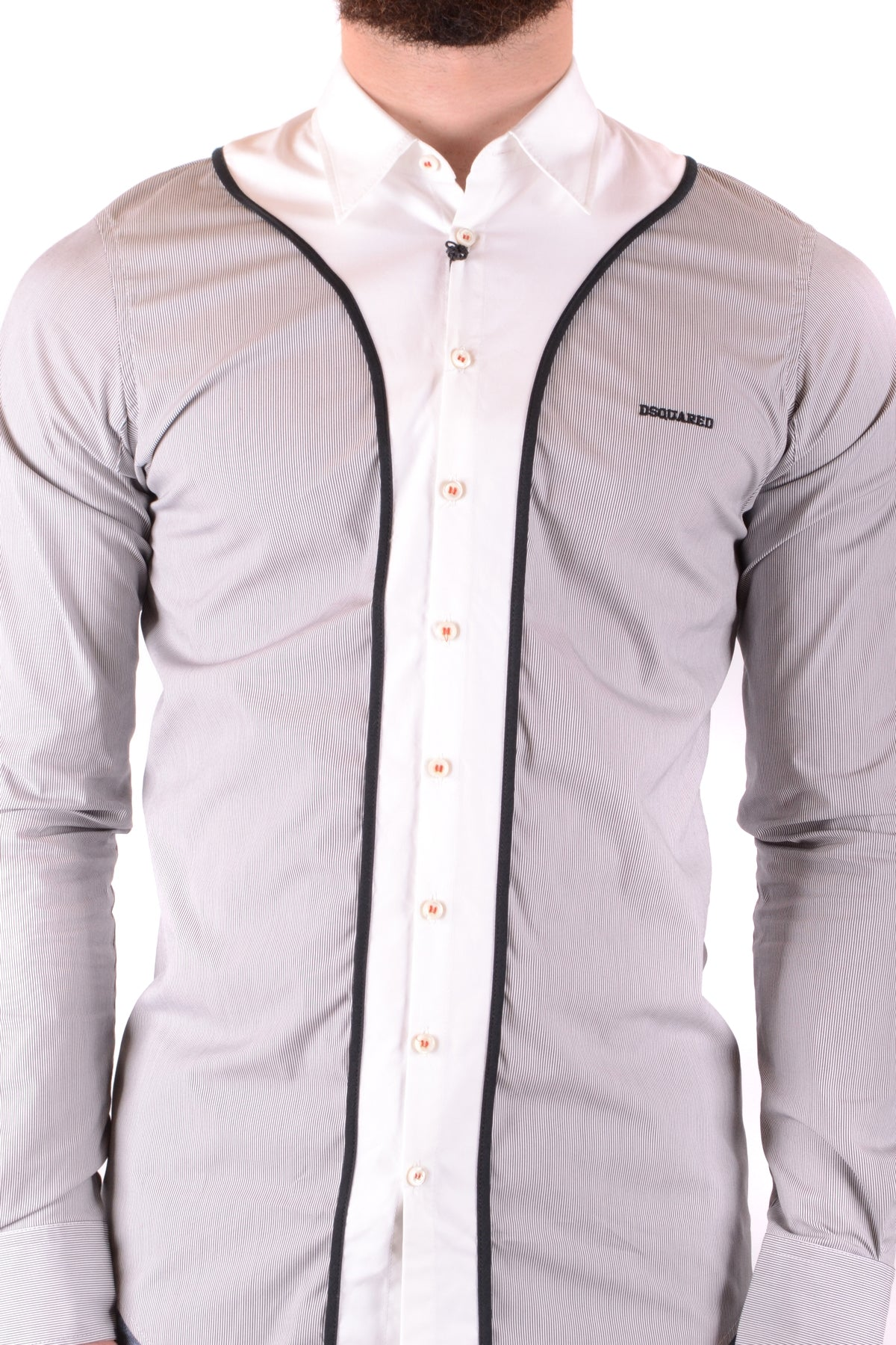 Shirt Dsquared-Shirts - MAN-Product Details Terms: New With LabelYear: 2018Main Color: MulticolorGender: ManMade In: ItalyManufacturer Part Number: 74Dl234Size: Collar SizeSeason: Spring / SummerClothing Type: CamiciaComposition: Cotton 100%-Keyomi-Sook