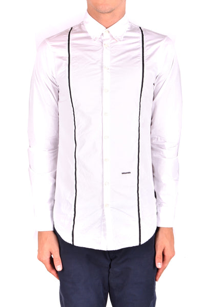Shirt Dsquared-Shirts - MAN-Product Details Terms: New With LabelMain Color: WhiteSeason: Spring / SummerMade In: ItalyManufacturer Part Number: S71Dl0442Size: ItGender: ManClothing Type: CamiciaComposition: Cotton 100%-Keyomi-Sook