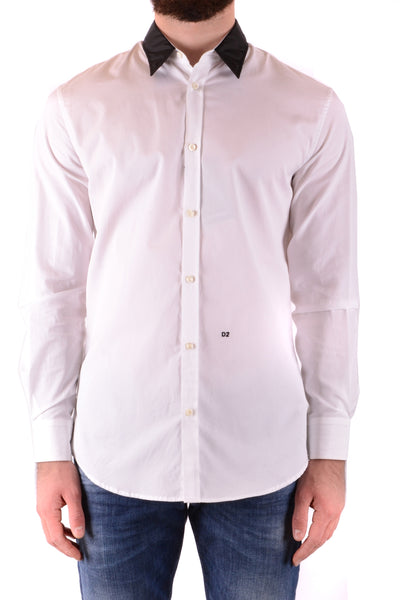 Shirt Dsquared-Shirts - MAN-Product Details Season: Spring / SummerTerms: New With LabelMain Color: WhiteGender: ManMade In: ItalyManufacturer Part Number: Stn461 962 S71Dl0764Size: ItYear: 2018Clothing Type: CamiciaComposition: Cotton 100%-Keyomi-Sook