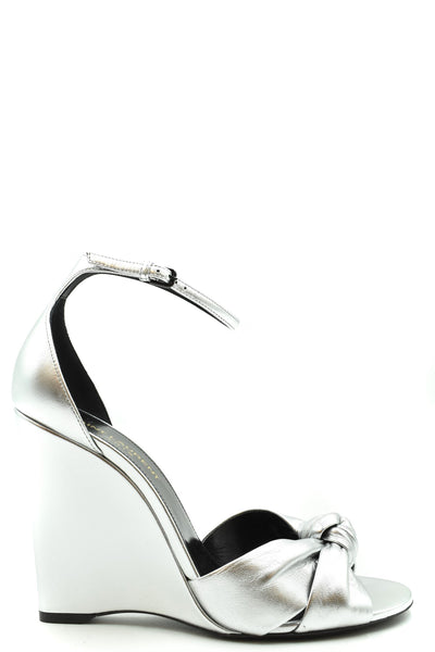 Shoes Saint Laurent-Women's Fashion - Women's Shoes - Women's Sandals-36-Product Details Terms: New With LabelMain Color: SilverType Of Accessory: ShoesSeason: Spring / SummerMade In: ItalyGender: WomanHeel'S Height: 10 CmSize: EuComposition: Leather 100%Year: 2020Manufacturer Part Number: 610179 0Xq008105-Keyomi-Sook