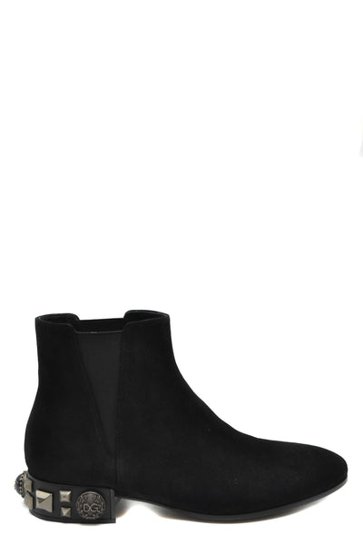 Shoes Dolce & Gabbana-root - Women - Shoes - Booties-35-Product Details Main Color: BlackTerms: New With LabelType Of Accessory: BootsSeason: Fall / WinterMade In: ItalyGender: WomanSize: EuComposition: Chamois 100%Year: 2019Manufacturer Part Number: Ct0445 Av264 8B956-Keyomi-Sook