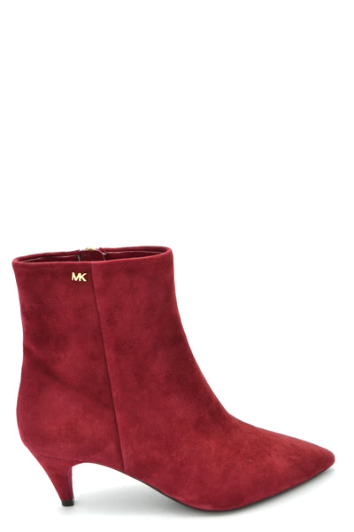 Shoes Michael Kors-Bootie - WOMAN-35-Product Details Type Of Accessory: ShoesTerms: New With LabelHeel'S Height: 4 CmMain Color: RedGender: WomanMade In: VietnamManufacturer Part Number: 40F8Bnme5SSize: EuYear: 2018Season: Fall / WinterComposition: Suede 100%-Keyomi-Sook
