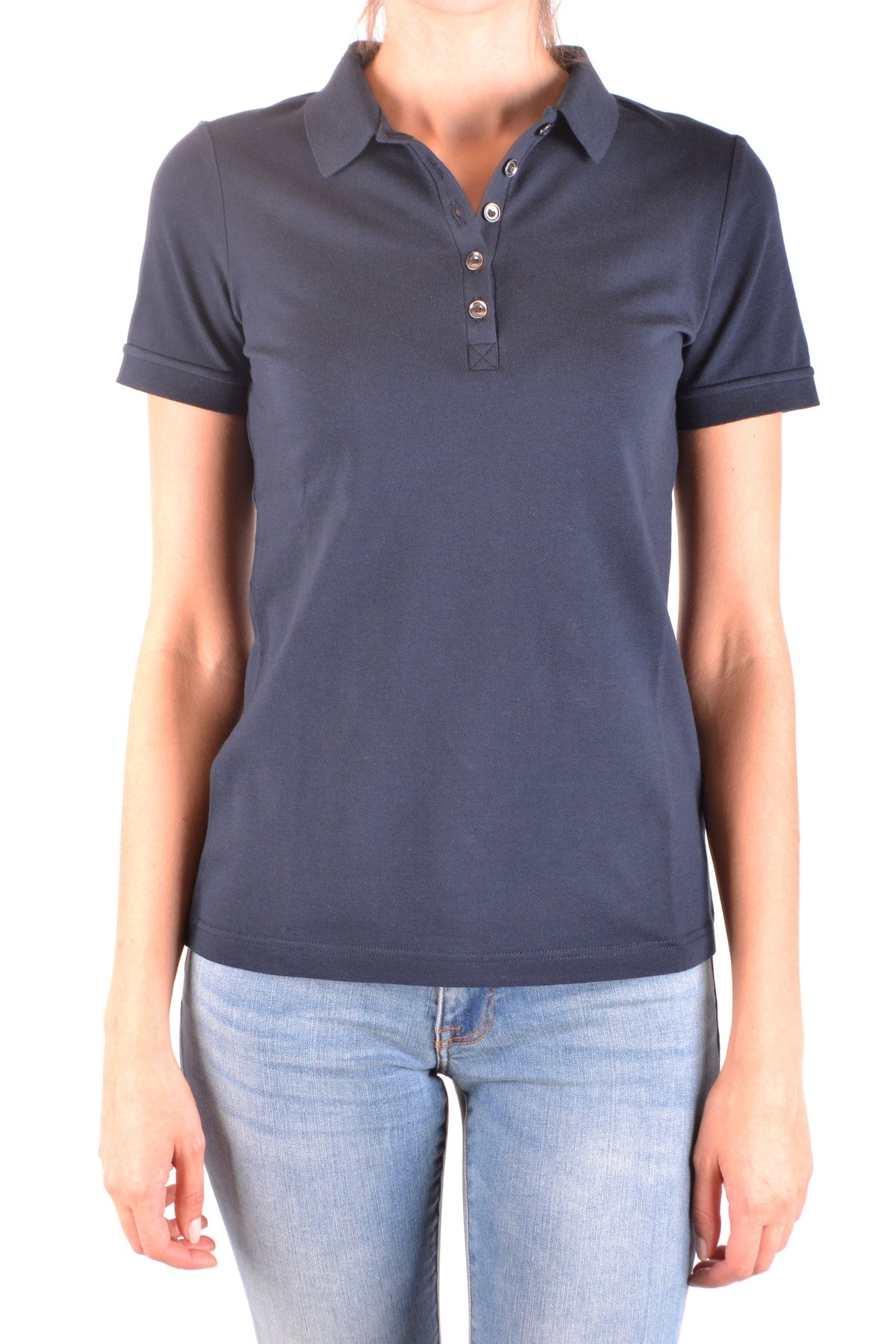 Polo Burberry-Polos - WOMAN-XS-Product Details Season: Spring / SummerTerms: New With LabelMain Color: BlueGender: WomanMade In: TurkeyManufacturer Part Number: 4001661 1003Size: IntYear: 2018Clothing Type: PoleComposition: Cotton 98%, Elastane 2%-Keyomi-Sook