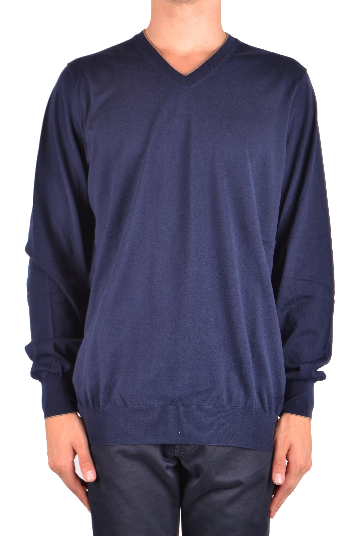 Sweater Brunello Cucinelli-Sweater - MAN-54-Product Details Terms: New With LabelYear: 2018Main Color: BlueGender: ManMade In: ItalyManufacturer Part Number: M2900162Size: ItSeason: Spring / SummerClothing Type: Sweater Composition: Cotton 100%-Keyomi-Sook