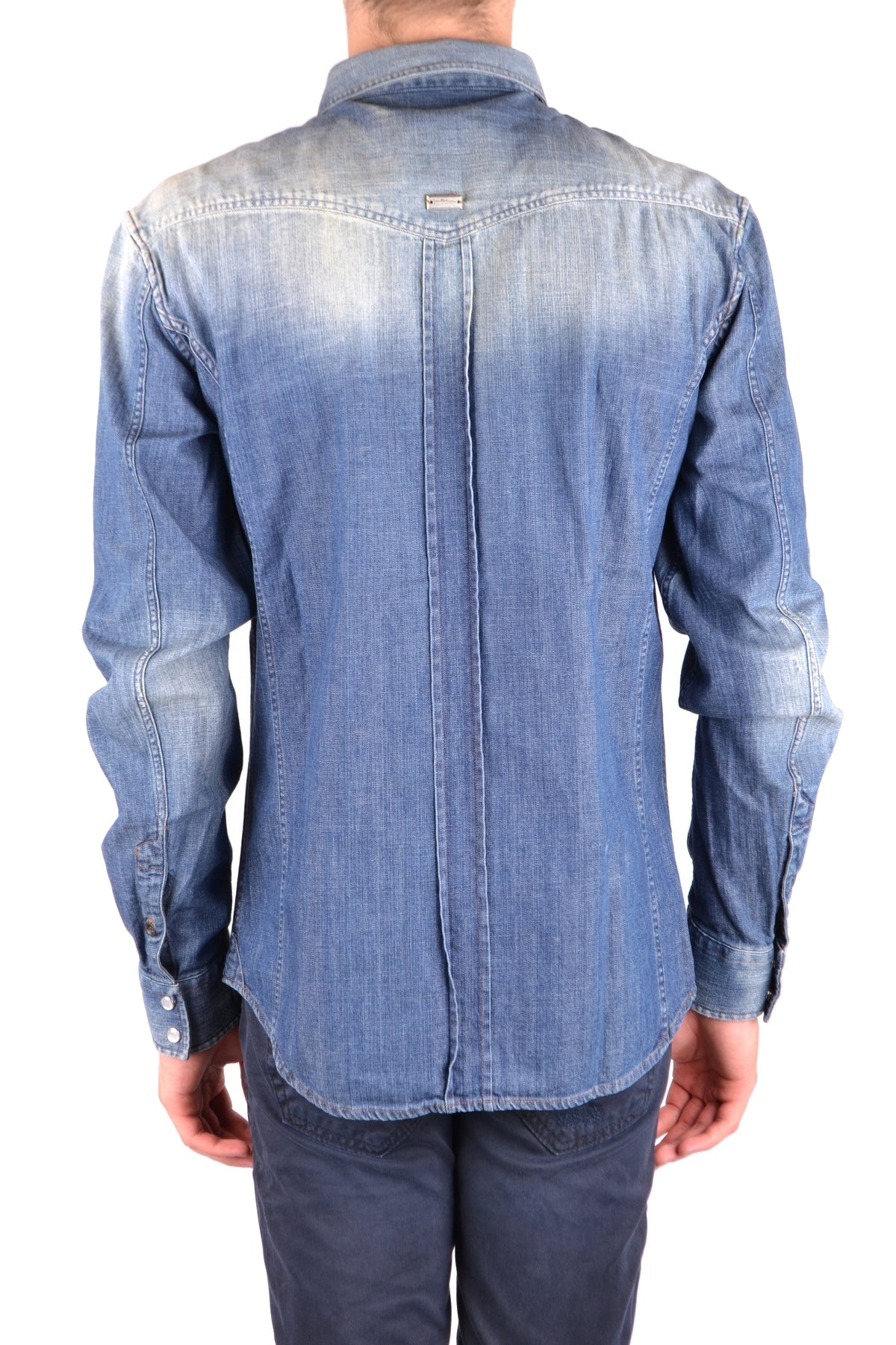 Shirt Pierre Balmain-Men's Fashion - Men's Clothing - Shirts-Product Details Gender: ManMade In: ItalySeason: Fall / WinterMain Color: BlueClothing Type: CamiciaTerms: New With LabelSize: ItComposition: Cotton 100%-Keyomi-Sook