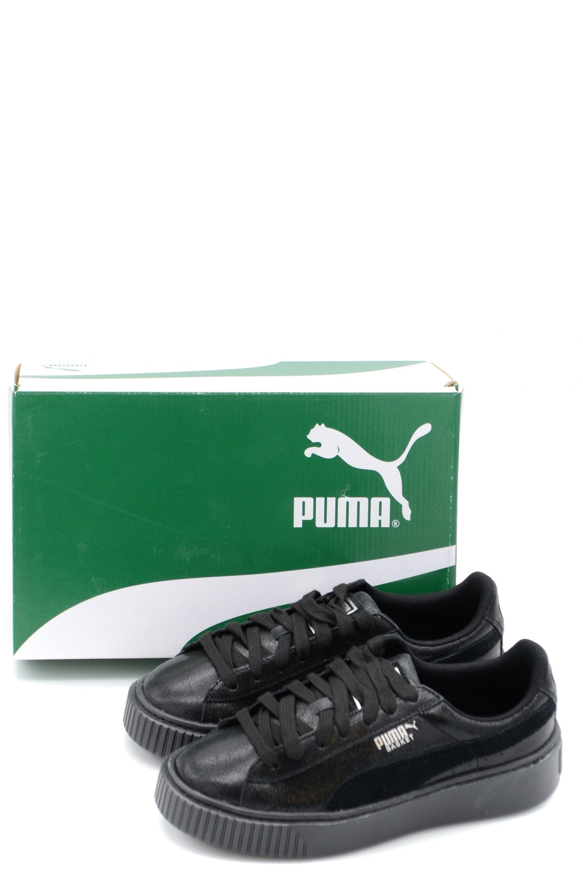 Shoes Puma-Sneakers - WOMAN-Product Details Type Of Accessory: ShoesSeason: Spring / SummerTerms: New With LabelMain Color: BlackGender: WomanMade In: VietnamManufacturer Part Number: 364587 01Size: EuYear: 2018Composition: Leather 100%-Keyomi-Sook