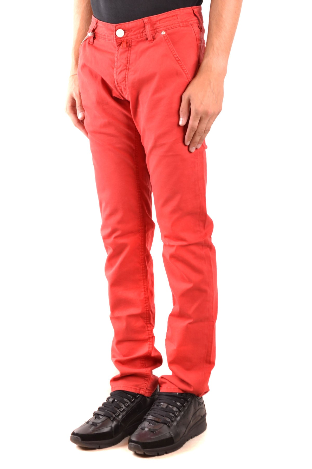 Jeans Jacob Cohen--Product Details Terms: New With LabelYear: 2019Main Color: RedGender: ManMade In: ItalyManufacturer Part Number: 00566V-5101Size: UsSeason: Spring / SummerClothing Type: JeansComposition: Cotton 55%, Elastane 3%, Lyocell 42%-Keyomi-Sook