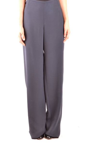Trousers Armani Collezioni-Trousers - WOMAN-44-Product Details Season: Spring / SummerTerms: New With LabelMain Color: BlueGender: WomanMade In: RomaniaManufacturer Part Number: Zmp01T Zm007Size: ItYear: 2018Clothing Type: TrousersComposition: Silk 34%, Viscose 66%-Keyomi-Sook