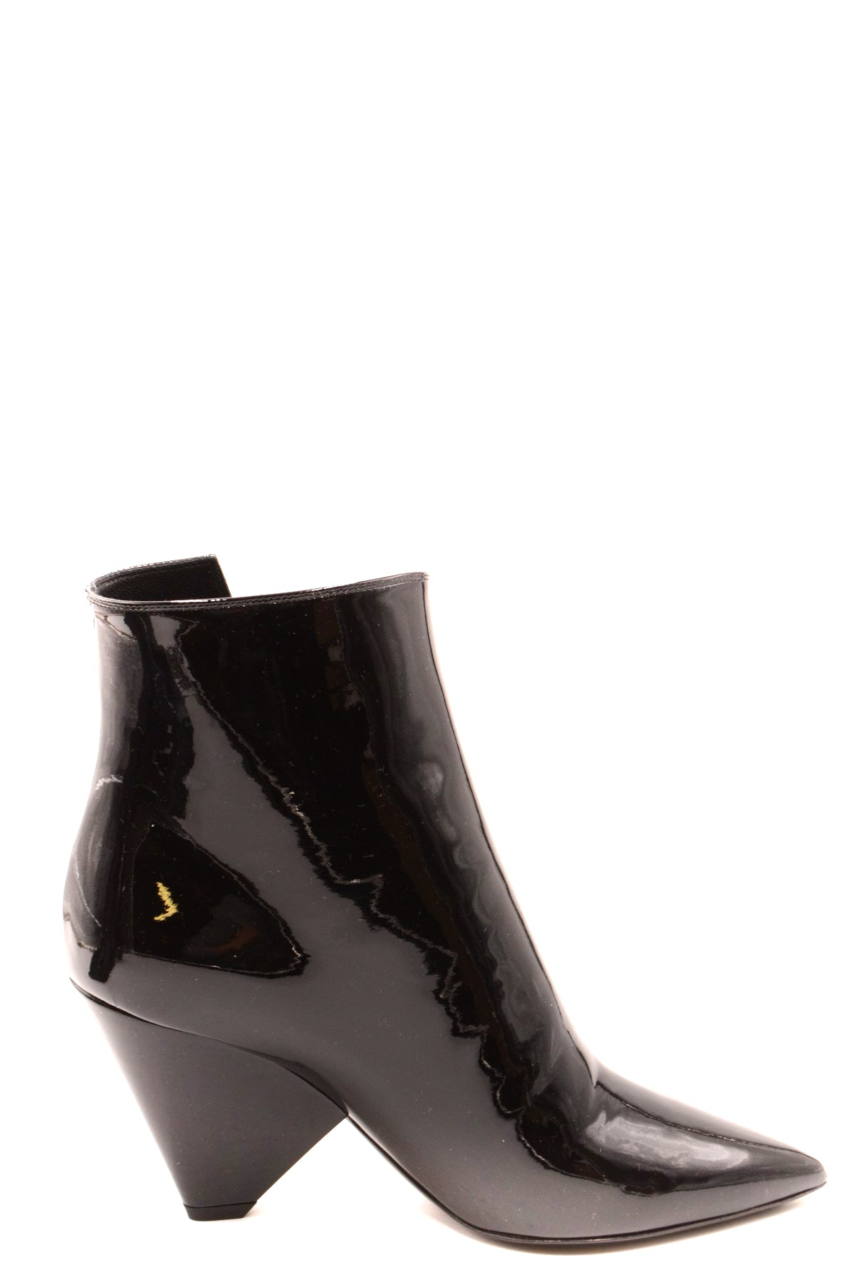 Shoes Saint Laurent-Women's Fashion - Women's Shoes - Women's Boots-36-Product Details Terms: New With LabelMain Color: BlackType Of Accessory: BootsSeason: Fall / WinterMade In: ItalyGender: WomanHeel'S Height: 7Size: EuComposition: Leather 100%Year: 2019Manufacturer Part Number: 543838 0Np00 1000-Keyomi-Sook