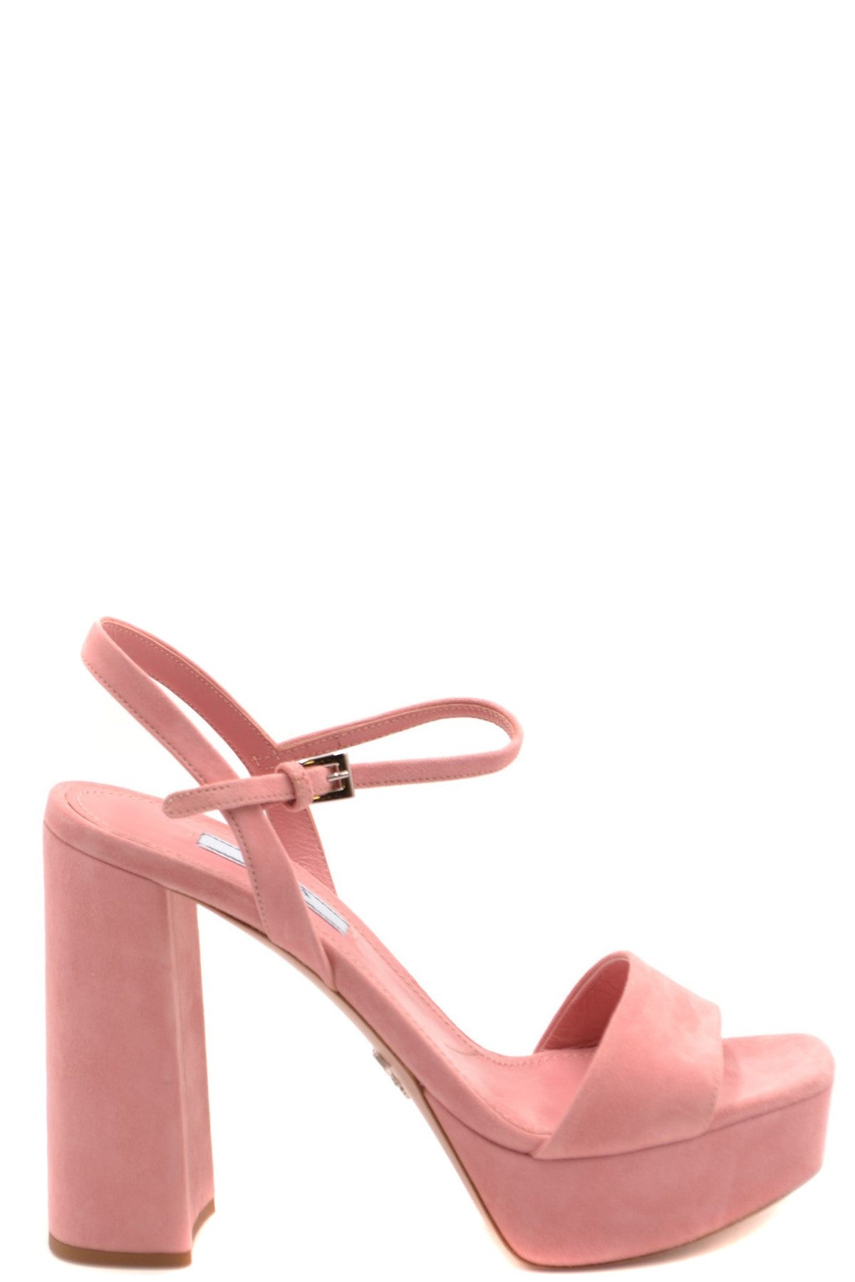 Shoes Prada-Women's Fashion - Women's Shoes - Women's Sandals-36.5-Product Details Terms: New With LabelMain Color: PinkType Of Accessory: ShoesSeason: Spring / SummerMade In: ItalyGender: WomanHeel'S Height: 12Size: EuComposition: Chamois 100%Year: 2020Manufacturer Part Number: 1Xp75A 008 F0025-Keyomi-Sook