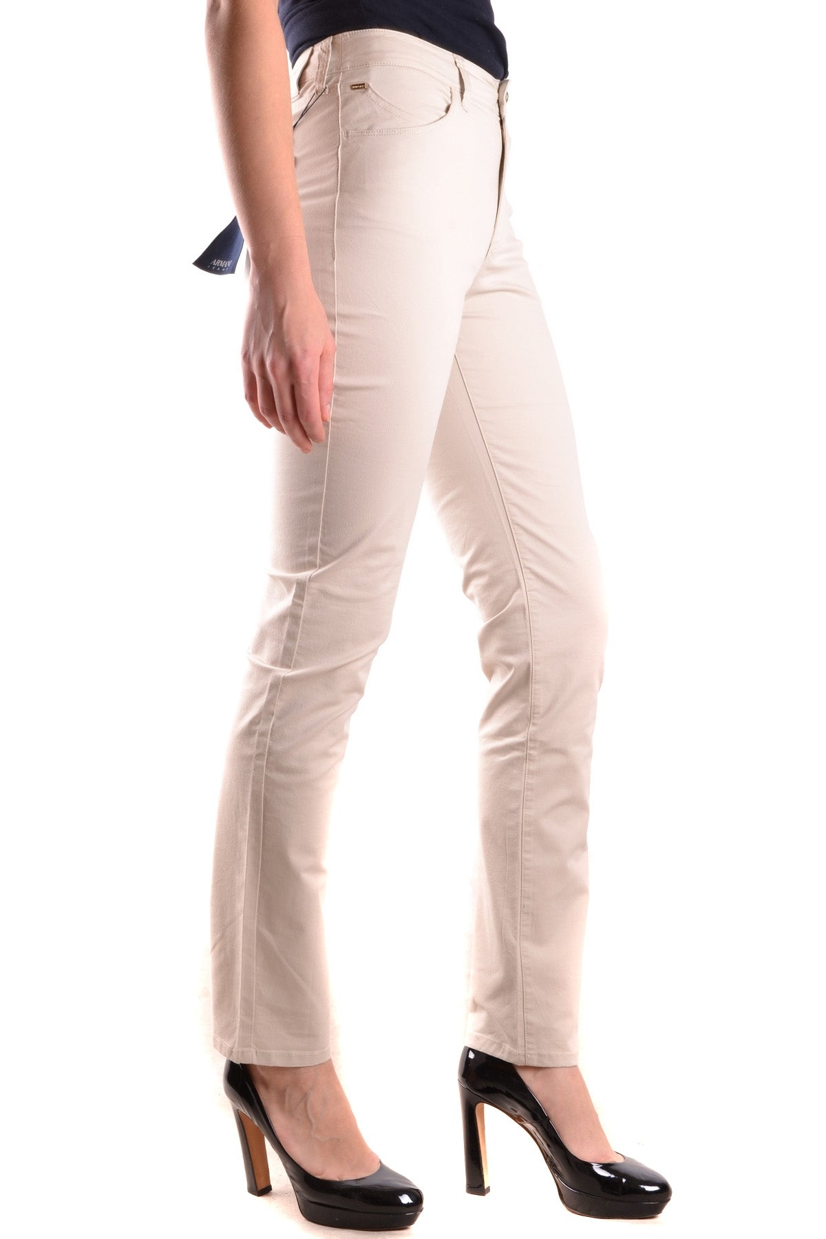 Jeans Armani Jeans-Jeans - WOMAN-Product Details Terms: New With LabelYear: 2017Main Color: BeigeGender: WomanMade In: IndiaSize: UsSeason: Spring / SummerClothing Type: JeansComposition: Cotton 81%, Elastane 2%, Polyester 15%-Keyomi-Sook