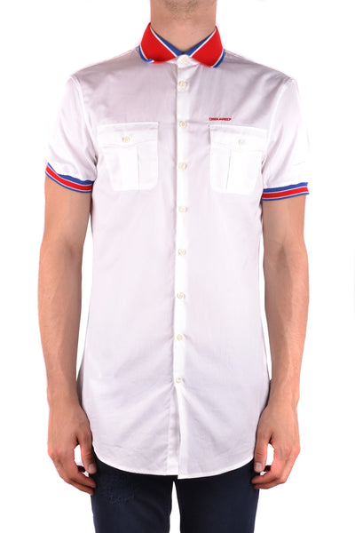 Shirt Dsquared-Shirts - MAN-Product Details Terms: New With LabelMain Color: WhiteGender: ManMade In: ItalySize: ItSeason: Spring / SummerClothing Type: CamiciaComposition: Cotton 100%-Keyomi-Sook