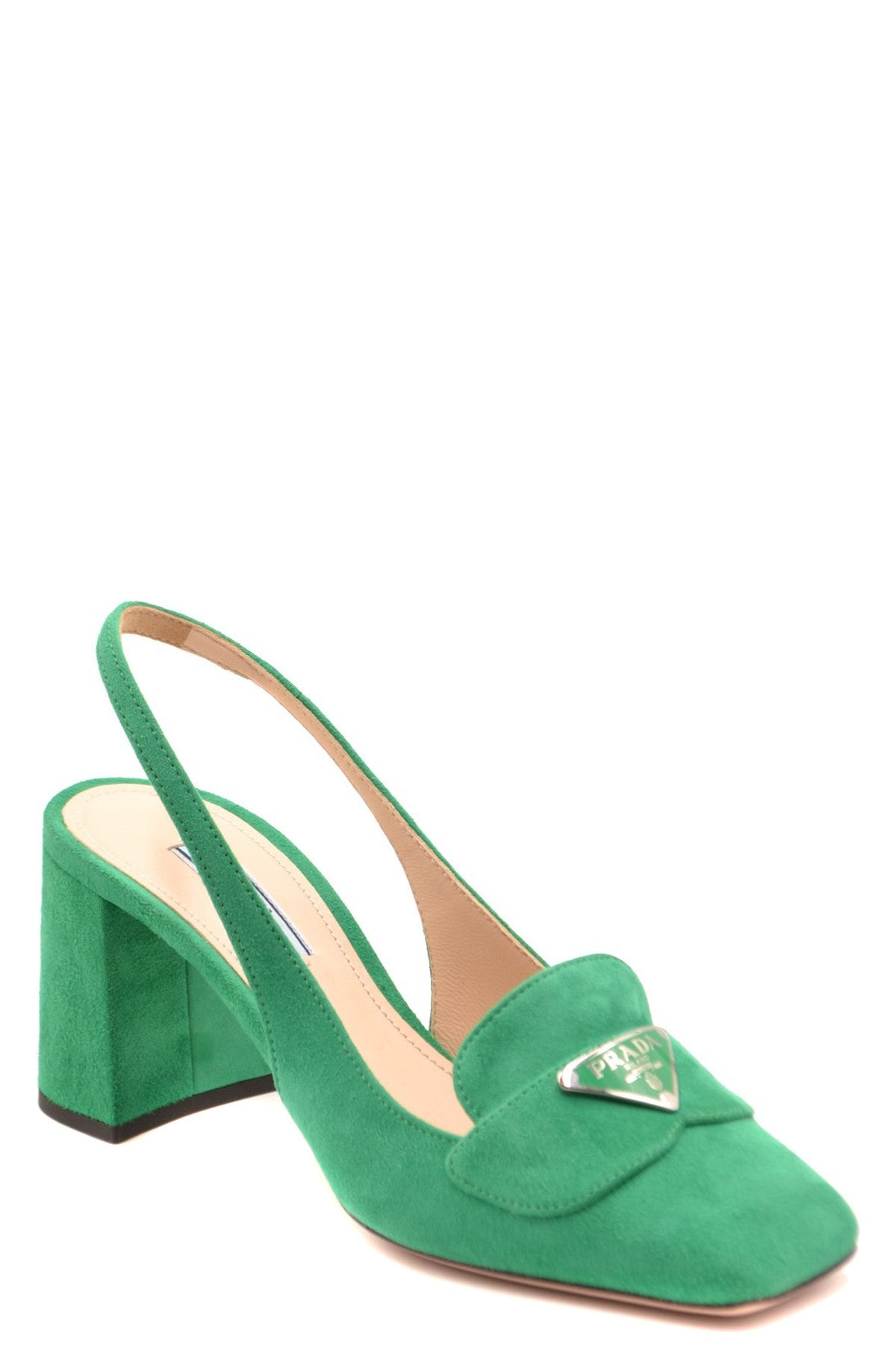 Shoes Prada-Women's Fashion - Women's Shoes - Women's Sandals-Product Details Terms: New With LabelMain Color: GreenType Of Accessory: ShoesSeason: Spring / SummerMade In: ItalyGender: WomanHeel'S Height: 8Size: EuComposition: Chamois 100%Year: 2020Manufacturer Part Number: 1D016M 008 F077U 11-Keyomi-Sook