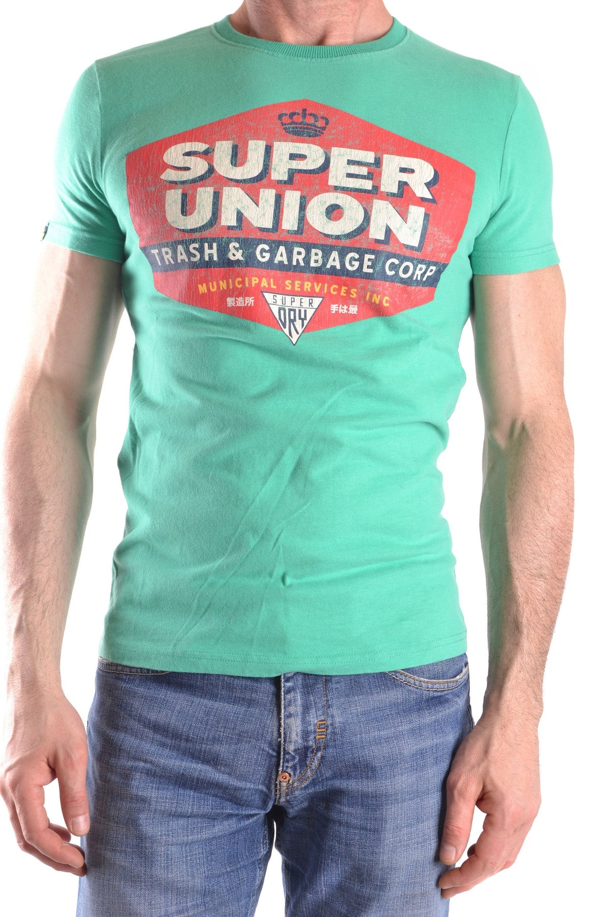 T-Shirt Superdry-Men's Fashion - Men's Clothing - Tops & Tees - T-Shirts-XS-Product Details Terms: New With LabelClothing Type: T-ShirtMain Color: GreenSeason: Spring / SummerMade In: TurcheyGender: ManSize: IntComposition: Cotton 100%Year: 2017-Keyomi-Sook