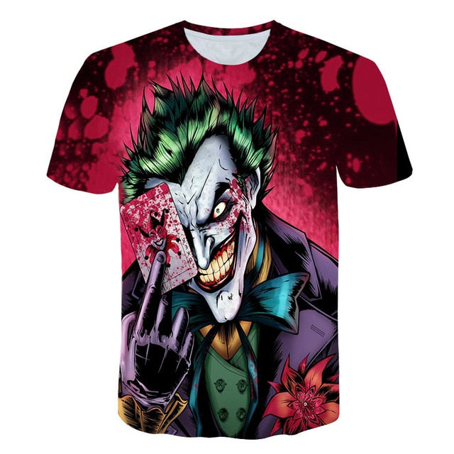 Men And Women Suicide Squad Men'S T-Shirts-Boys Graphic Tees-024-XXL-Keyomi-Sook