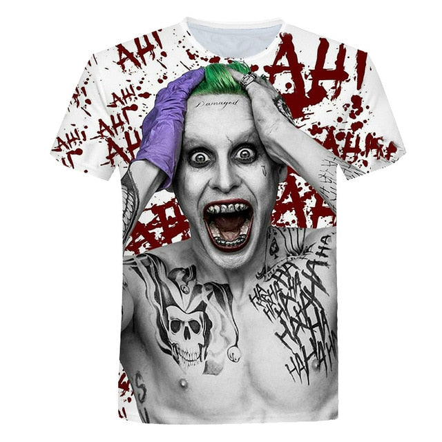 Men And Women Suicide Squad Men'S T-Shirts-Boys Graphic Tees-987-XXL-Keyomi-Sook