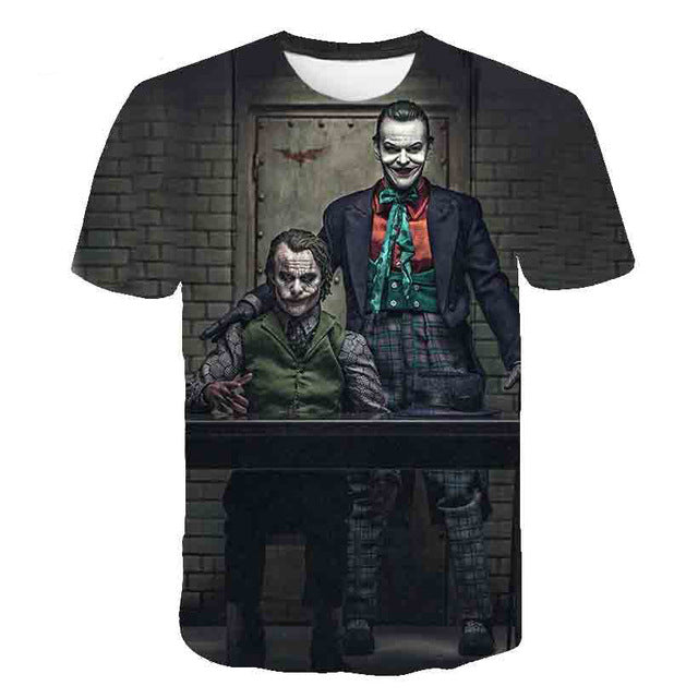 Men And Women Suicide Squad Men'S T-Shirts-Boys Graphic Tees-1876-M-Keyomi-Sook