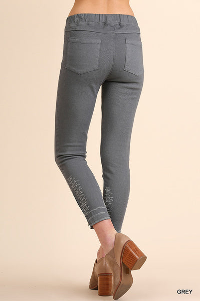 High waisted leggings with pocket  - Bella Vita Chic Boutique