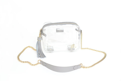 Bronwyn bag in grey  - Bella Vita Chic Boutique