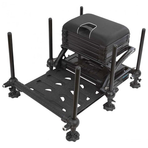 Preston Innovations Absolute Station Seatbox Black Edition