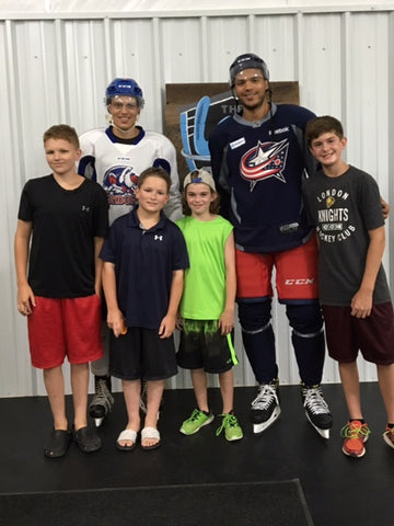 Seth Jones and brother Caleb along with Blade Armor users