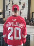 BLADE ARMOR SPONSOR 4TH OVERALL OHL 2020 PICK BRYCE MCCONNELL-BARKER 4 STREET HOCKEY FOR $15 !