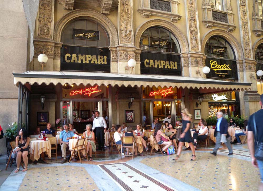 Behind the Bitter - The History of Campari Galleria