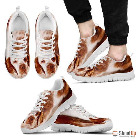 Clumber Spaniel-Dog Running Shoes For Men-Free Shipping Limited Edition