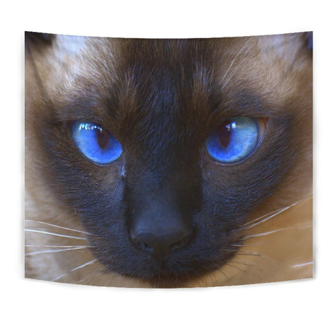 Siamese Cat Print Tapestry-Free Shipping