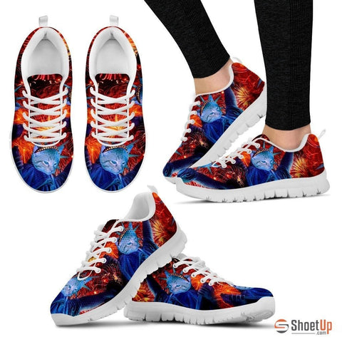 Statue Of Liberty-Cat Shoes For Women-Free Shipping